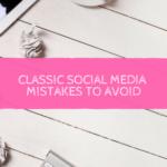 5 Classic Social Media Marketing Mistakes to Avoid