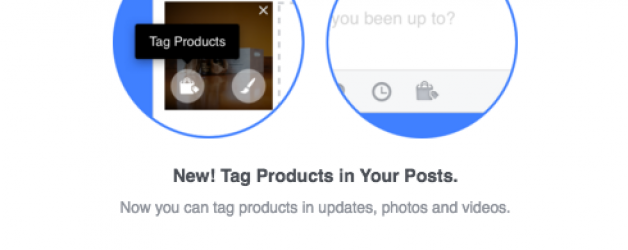 New: Tag Your Products in Your Facebook Posts
